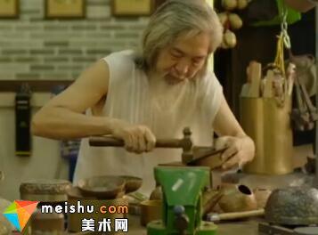 """「工艺」苏伯与苏仔:""""打""""不相识的亲父子(打铜)-中国符号"""