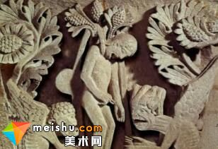 「西方艺术史」罗马式雕塑与建筑-西方美术史
