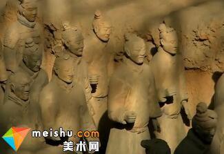 「雕塑」秦始皇兵马俑