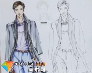 超级速写描摹本―服装设计手绘篇(男性整体)