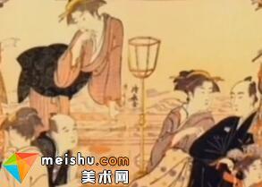 「日本美术史」东方艺术大观-浮世绘