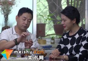 提笔纳乾坤京派内画鼻烟壶-北京市文联艺术品鉴赏2018