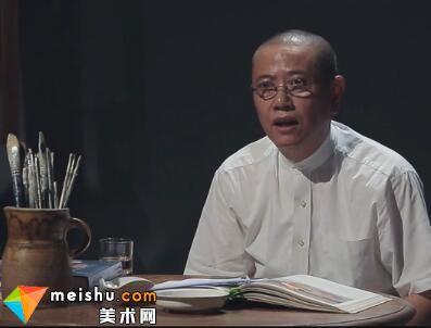 """陈丹青主讲""""瓦拉东母子""""-局部"""