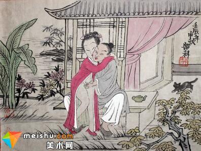 春宵秘戏图-春宫图