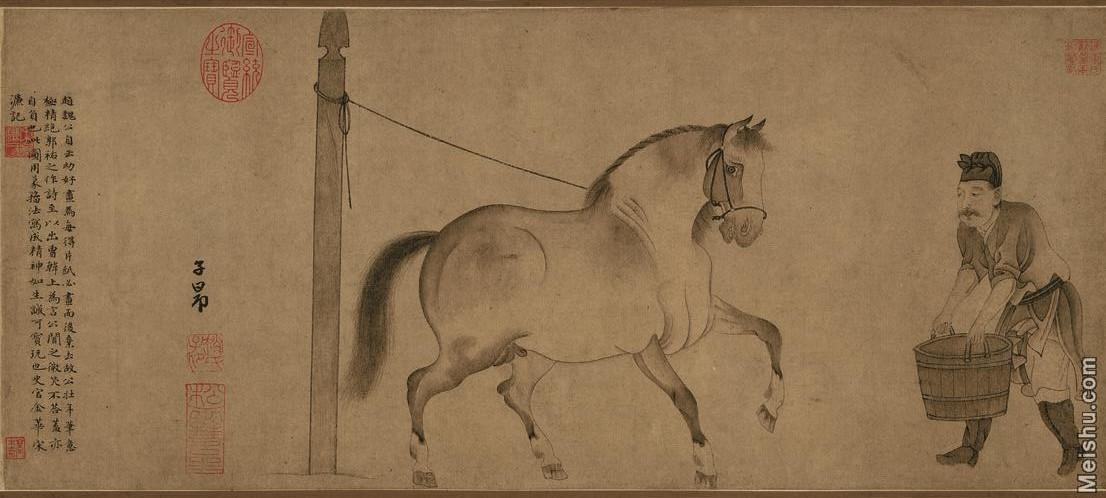 【超顶级】GH7280139古画动物饮马图纸镜片图片-139M-9383X4236_19000001.jpg