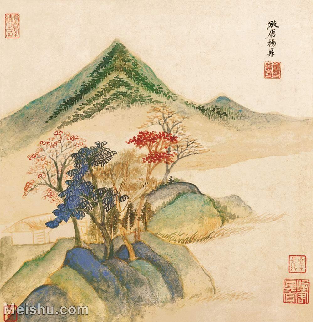 【印刷级】GH6061217古画仿古山水(8)-山丘-树林册页图片-33M-2510X2579_12888833.jpg