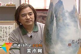 「中国美术」景德镇瓷画大师赖德全-中华绝技