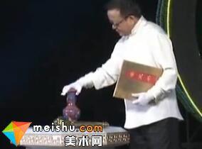 明嘉靖黄地红彩海水云龙纹罐-收藏秀2011