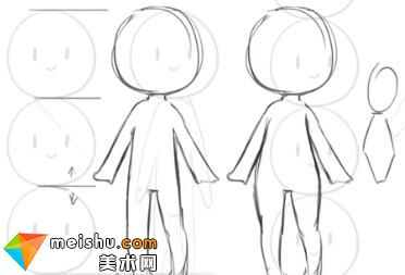 「轻微课」动漫绘画人物三头身介绍-手绘插画教程
