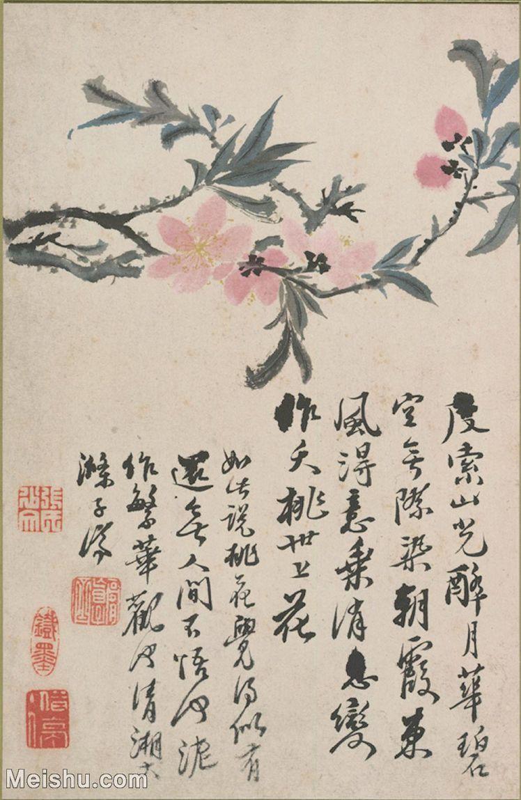 【打印级】GH6062355古画清-石涛花卉册(10)册页图片-26M-2394X3675_55766629.jpg