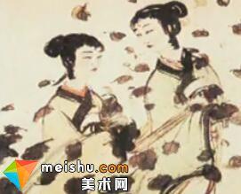 著名画家傅抱石(中)-二十世纪中国文化名人