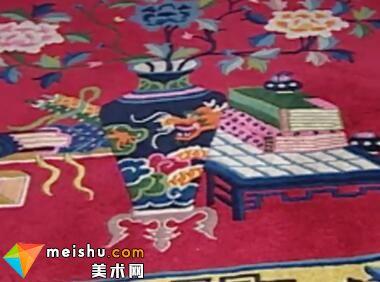 「织锦」蒙古族地毯-中华绝技