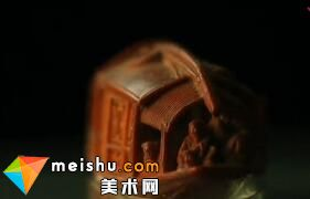 巧夺天工之雕橄榄核小舟-台北故宫