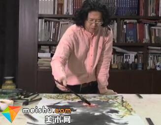 当代中国书画家王英钢的艺术人生-艺生