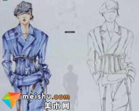 超级速写描摹本—服装设计手绘篇(女性整体)