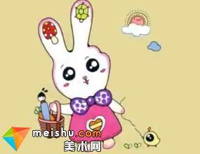 「創意兒童畫」兔子-兒童簡筆畫教程