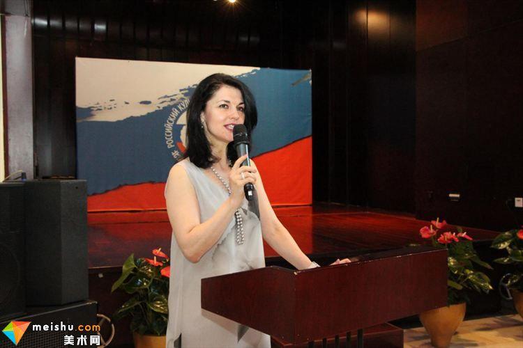 纪念俄中建交70周年画展于北京俄罗斯文化中心开幕