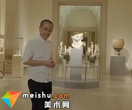 """陈丹青主讲大都会博物馆中的两大""""种子""""展馆-局部"""