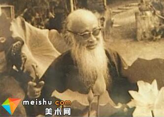 著名画家张大千(上)-二十世纪中国文化名人