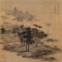 【欣赏级】GH6081080古画山水风景小品图片-23M-2421X2517