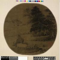 【印刷级】GH6081380古画山水风景-清代名家-小品图片-16M-2480X2384