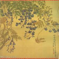 【打印级】GH6060469古画清张伟写生花卉册4册页图片-10M-1700X2072