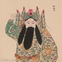 【印刷级】GH6061450古画脸谱(31)-人物-师敬司册页图片-39M-3303X4182