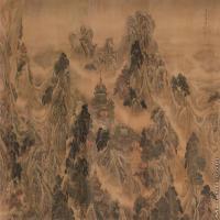 【超顶级】GH7280148古画山水风景清袁耀蓬莱仙境图镜片图片-2296M-38700X15551_55667568