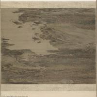 【打印级】GH7270694古画宋-李唐 秋林观泉图卷长卷图片-141M-16711X2950