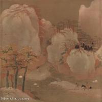 【欣赏级】GH6087006古画山水风景立轴图片-28M-2468X3109