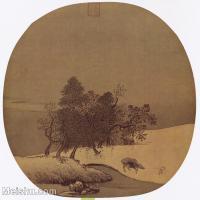 【印刷级】GH6156231古画宋人小品 山水图片-55M-4516X4308