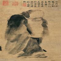 【打印級】GH6086196古畫人物梁楷立軸圖片-50M-3216X5724_1926643