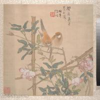 【印刷级】GH6080228古画花卉鲜花鸟小品图片-45M-4000X3981
