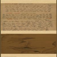 【印刷级】GH7271150古画金-杨微-二骏图-绢本A版长卷图片-294M-31813X3569_27276962