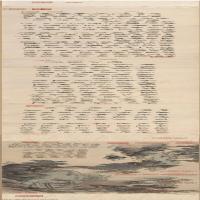 【超顶级】GH7270959古画明-沈周-盆菊图-纸本-B版长卷图片-596M-46533X3348_45949189