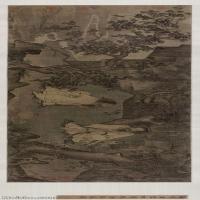 【印刷级】GH7280354古画人物南宋 李唐《采薇图》镜片图片-94M-10662X3111