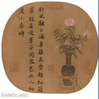 【打印级】GH6080288古画花卉鲜花鸟宋小品3-小品图片-24M-2916X2950_1894148