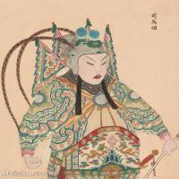 【印刷级】GH6061458古画脸谱(39)-人物-司马昭册页图片-39M-3305X4149_13321408