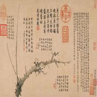 【打印级】GH7280532古画植物雪中梅竹纸镜片图片-59M-5685X3445_19974087