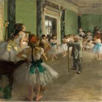 埃德加·德加-舞蹈课