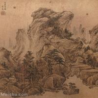 【欣赏级】GH6081081古画山水风景小品图片-24M-2416X2670_18346154
