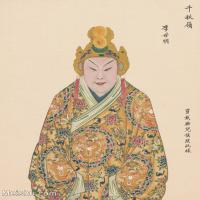 【印刷级】GH6061461古画脸谱(41)-人物-李世明册页图片-39M-3306X4143