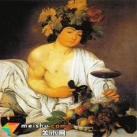 卡拉瓦乔的油画《年轻的酒神》赏析
