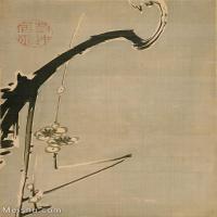 【印刷级】GH6085311古画树木植物立轴图片-80M-4615X6106