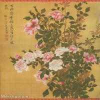 【打印级】GH6060466古画清张伟写生花卉册7册页图片-10M-1700X2076