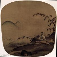 【印刷级】GH6156222古画宋人册页 山水图片-38M-3250X4175