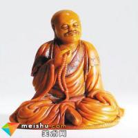 清代寿山石雕罗汉像赏析