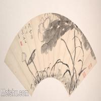 【欣赏级】GH6070224古画花卉植物树木扇面图片-5M-2000X1028