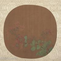 【印刷级】GH6080480古画花卉鲜花鸟古代植物花卉藤蔓小品图片-43M-4000X3840
