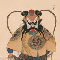 【印刷级】GH6061442古画脸谱(24)-人物-卞宜随册页图片-39M-3300X4152